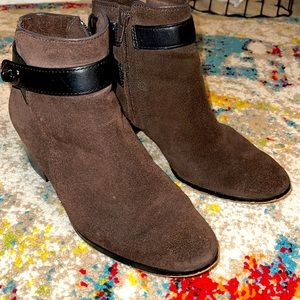 Coach Patricia Brown Booties